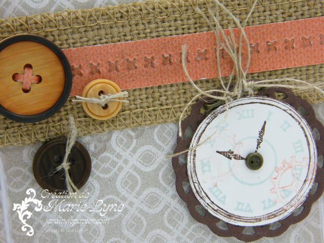 Clockworks, temps frisquet, Stampin'UP, création de carte, carte masculine