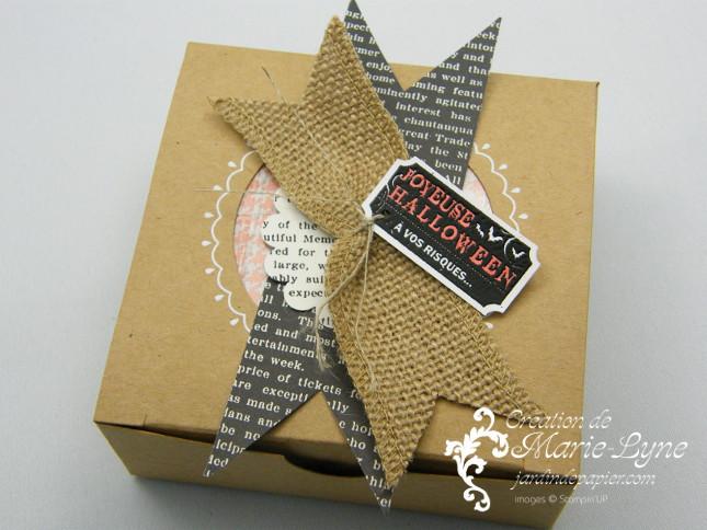 emballages halloween, Stampin'UP!, Jardin de papier