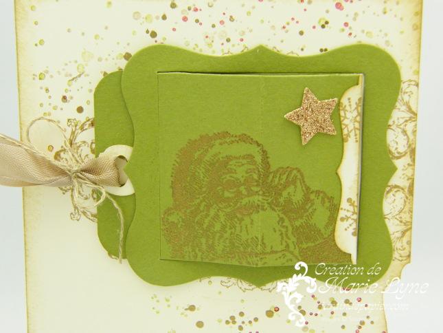 Bigz L Cadres Cache-cache, Création de cartes, Stampin'UP!, carte de Noël