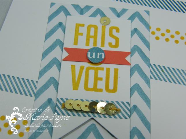 Stampin'UP!, stamping up, scrapbooking, parfaits fanions, jardin de papier