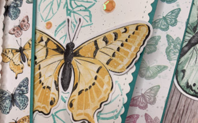 Carte coulissante – Stampin' Up!