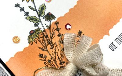 Libellule au jardin – Stampin' Up!