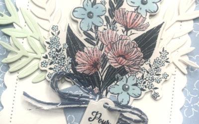 Bouquet de souhaits – Stampin' Up!