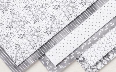 Six façons d'utiliser le papier Lavis en gris